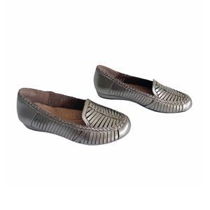 Rockport Cobb Hill Galway Pewter Loafer NWOB Sz 5